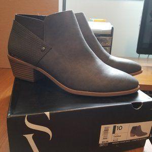Bluish Grey Booties